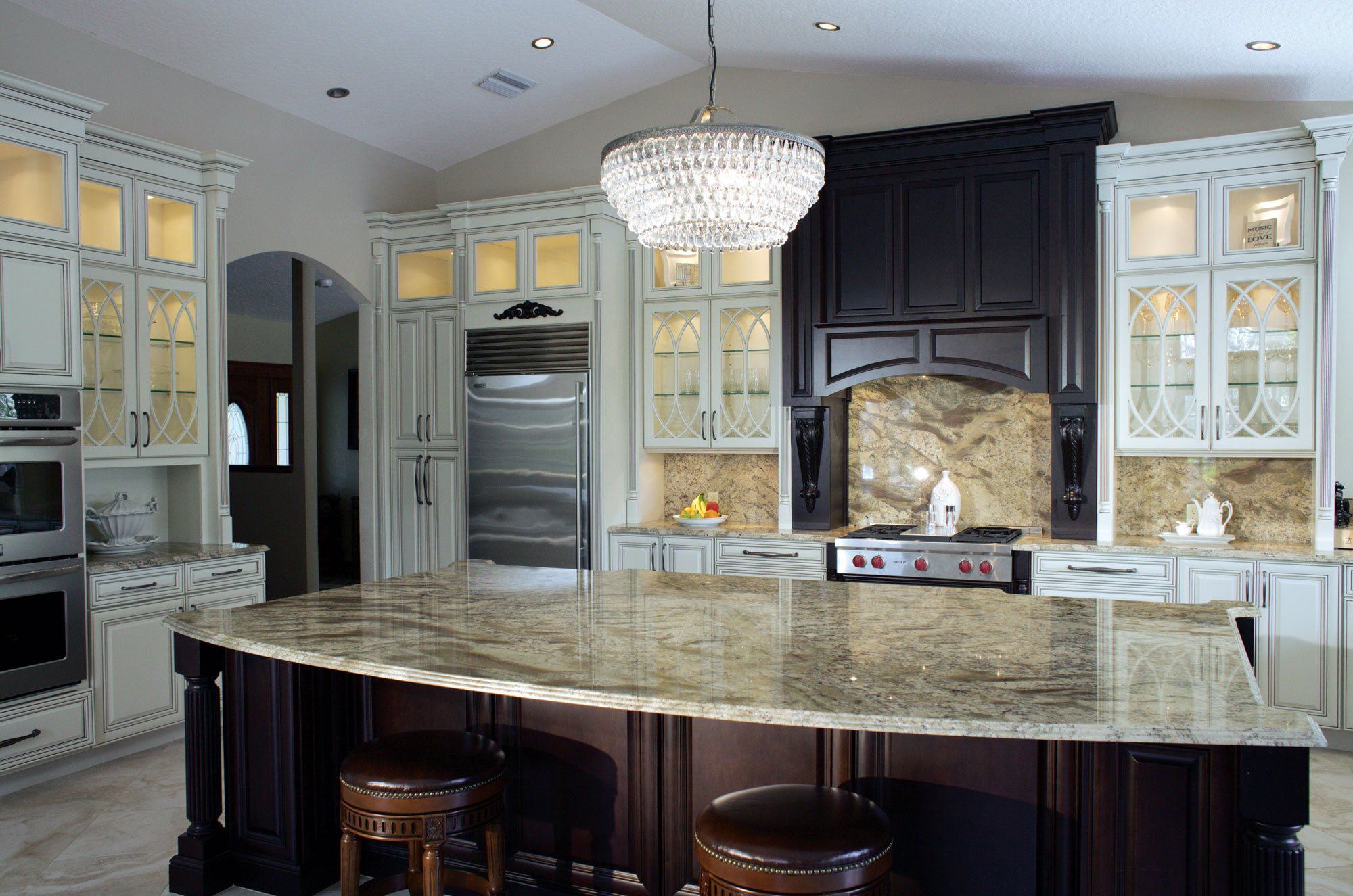 Kitchen and Bath Remodel Melbourne FL custom cabinets and countertops
