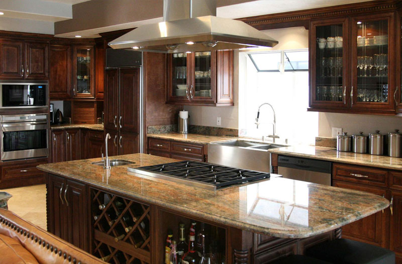 Wine Connoisseur Kitchen and Bath Style Melbourne Florida Hammond Kitchen and Bath Showroom