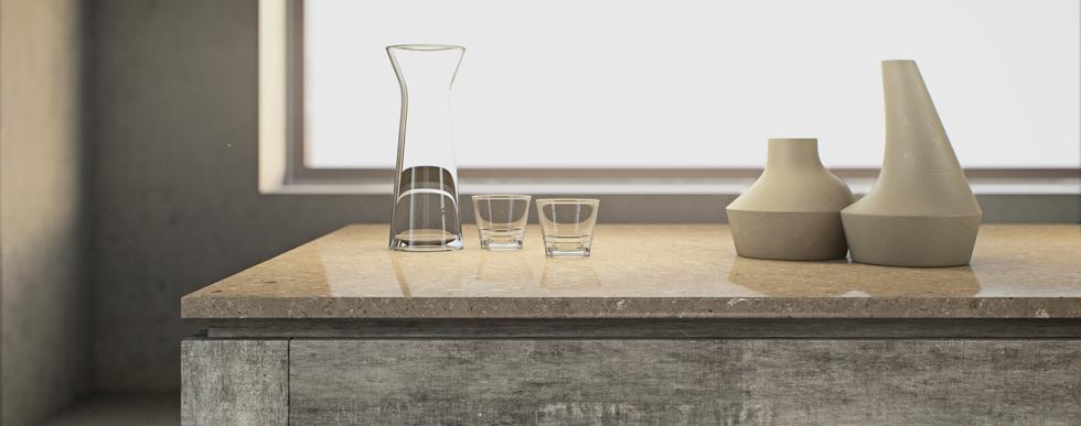 Caesarstone quartz Counter tops available at Hammond Kitchens & Bath Melbourne FL