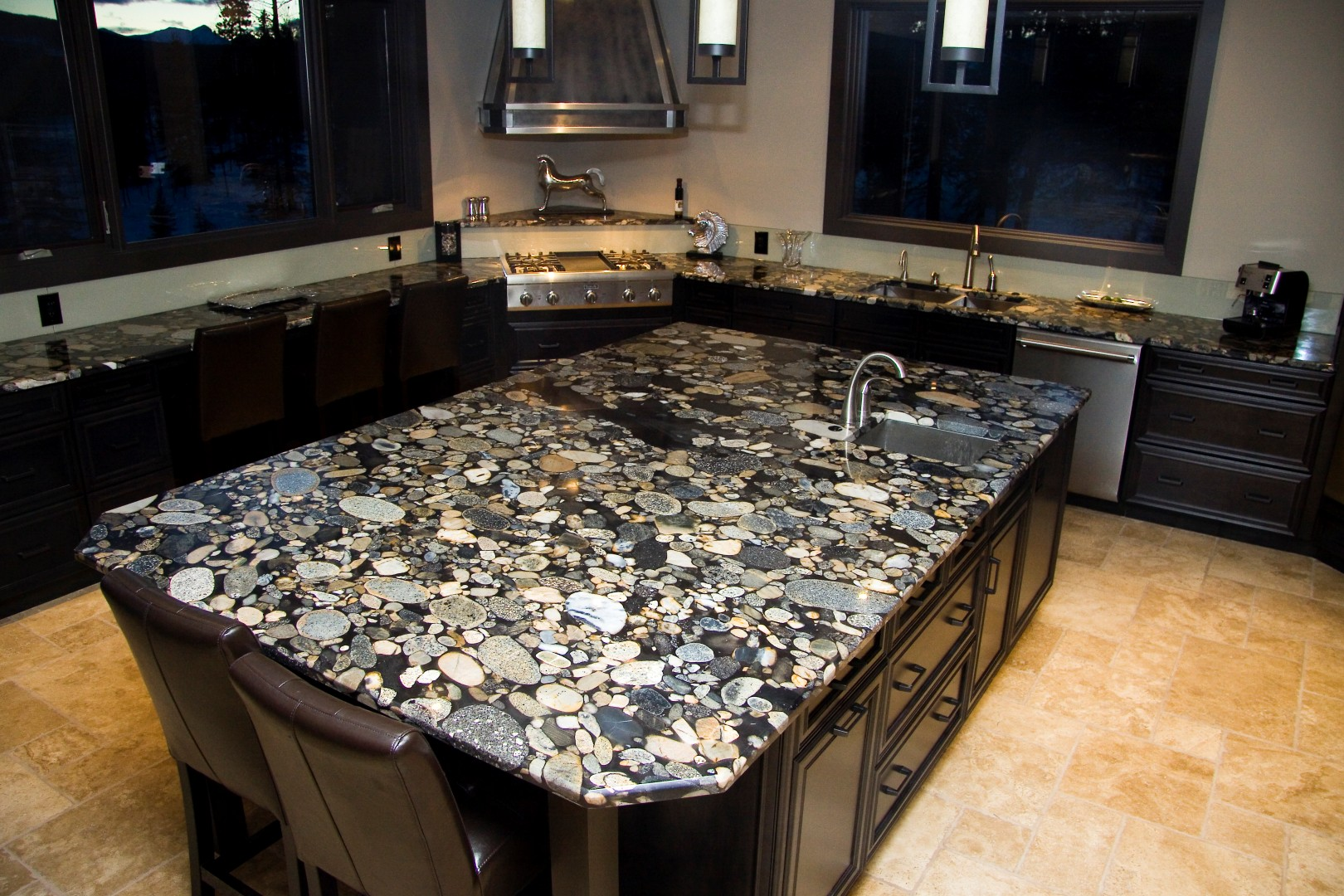 Kitchen bath countertop installation photos in brevard for Granite countertops colors price