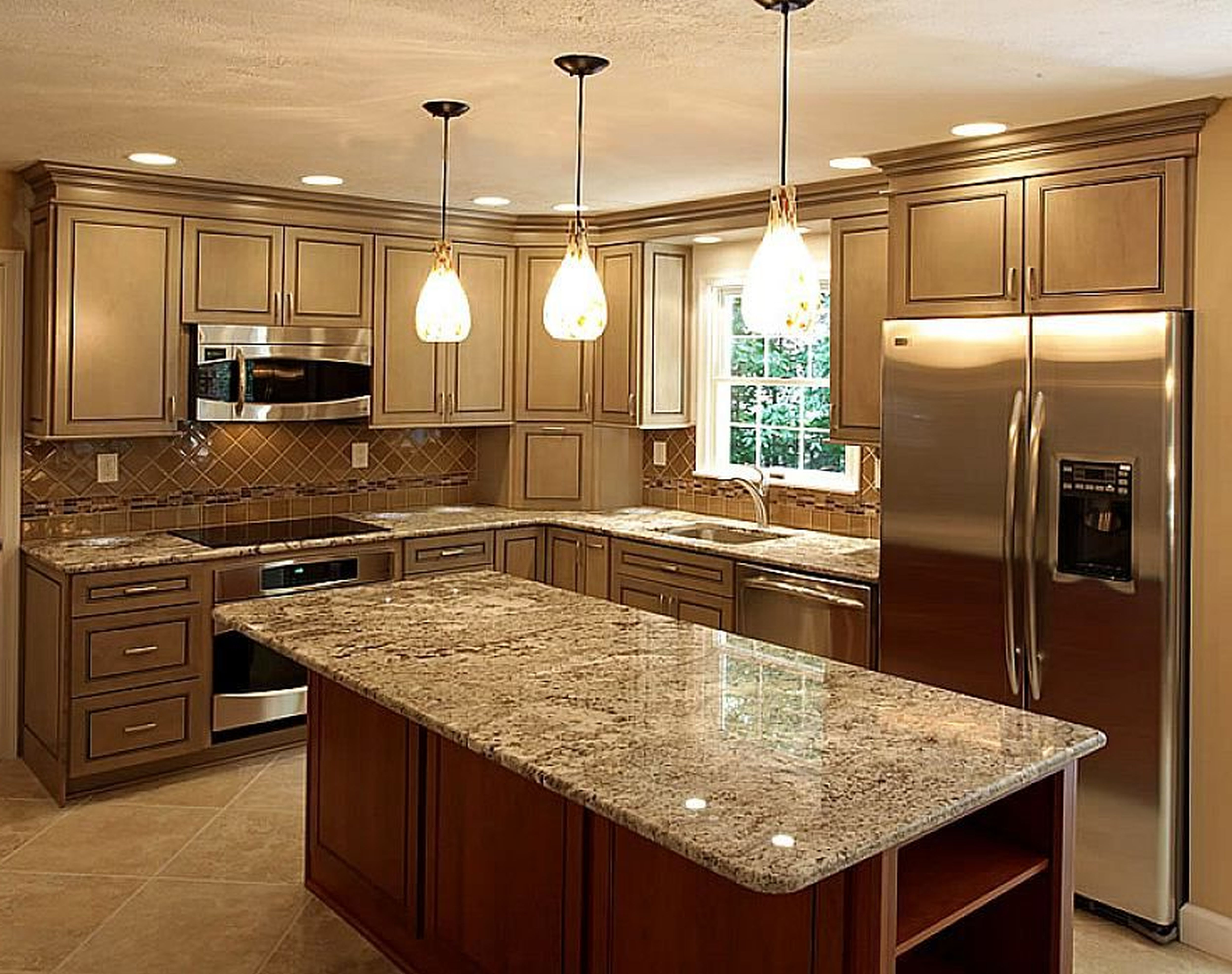 Kitchen Bath Countertop Installation Photos In Brevard Indian River Fl  Glass Kitchen Countertops Pros And Cons