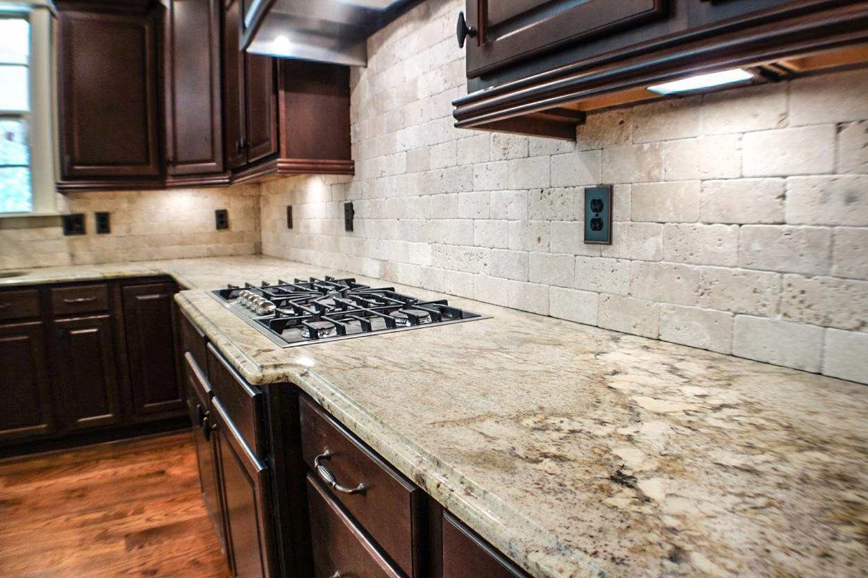 Kitchen Countertops. Granite, Marble, Quartz, Slate And Glass Counter Top  Installations In