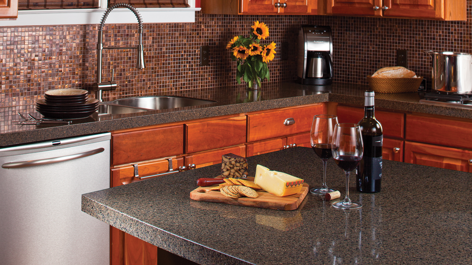 Kitchen bath countertop installation photos in brevard for Bathroom countertop accessories