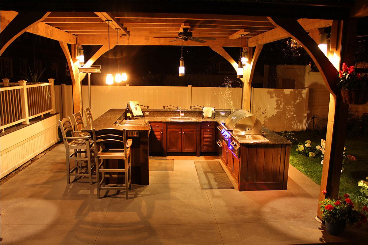 Naturekast outdoor summer kitchen cabintes in melbourne fl for Outdoor summer kitchen grills