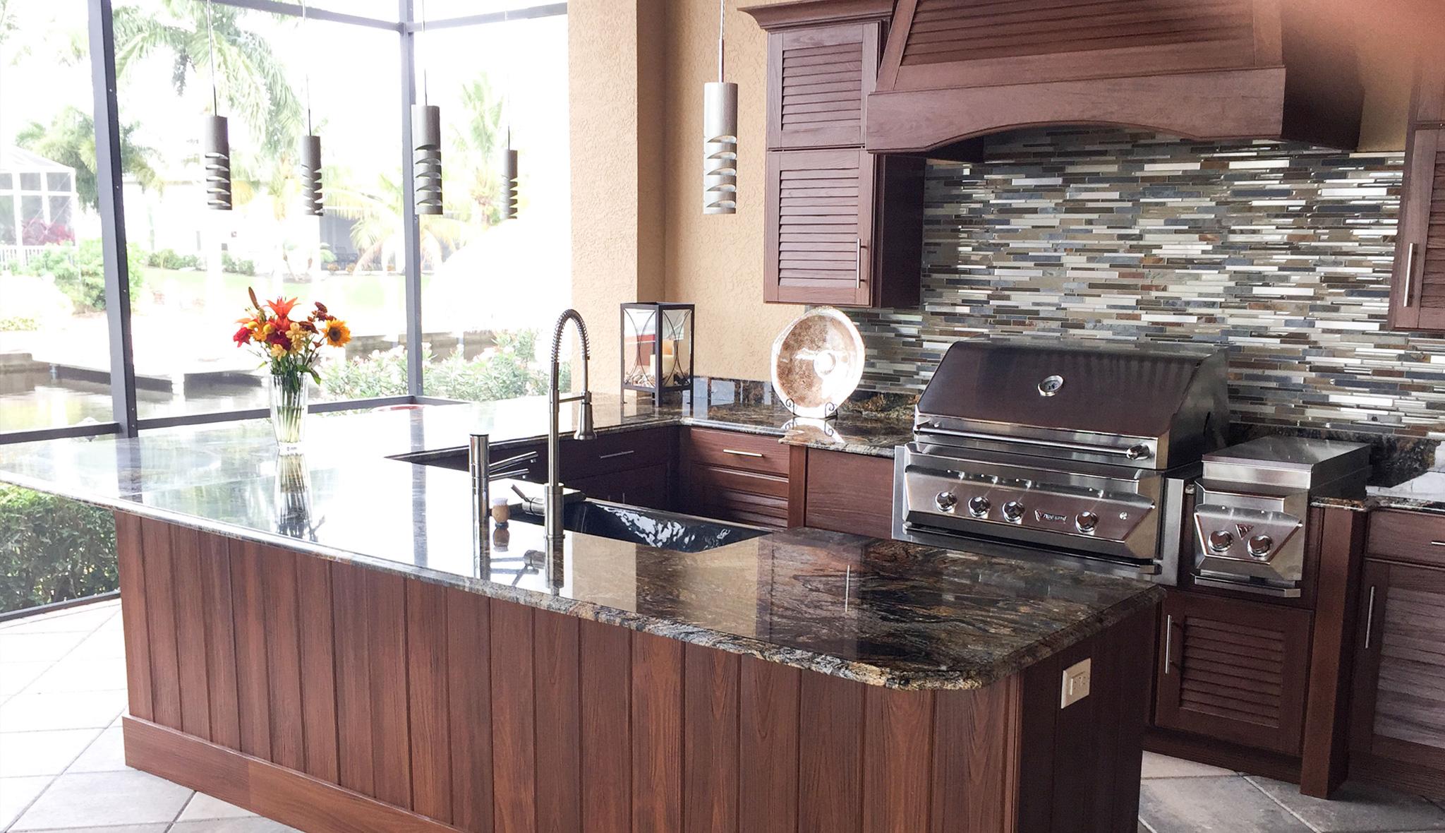Best Weatherproof Outdoor Summer Kitchen Cabinets In