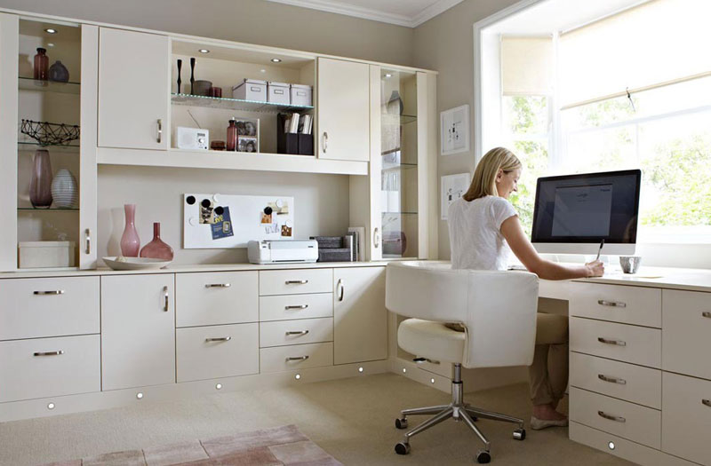 Home Office cabinets Melbourne Florida Hammond Kitchens & Bath