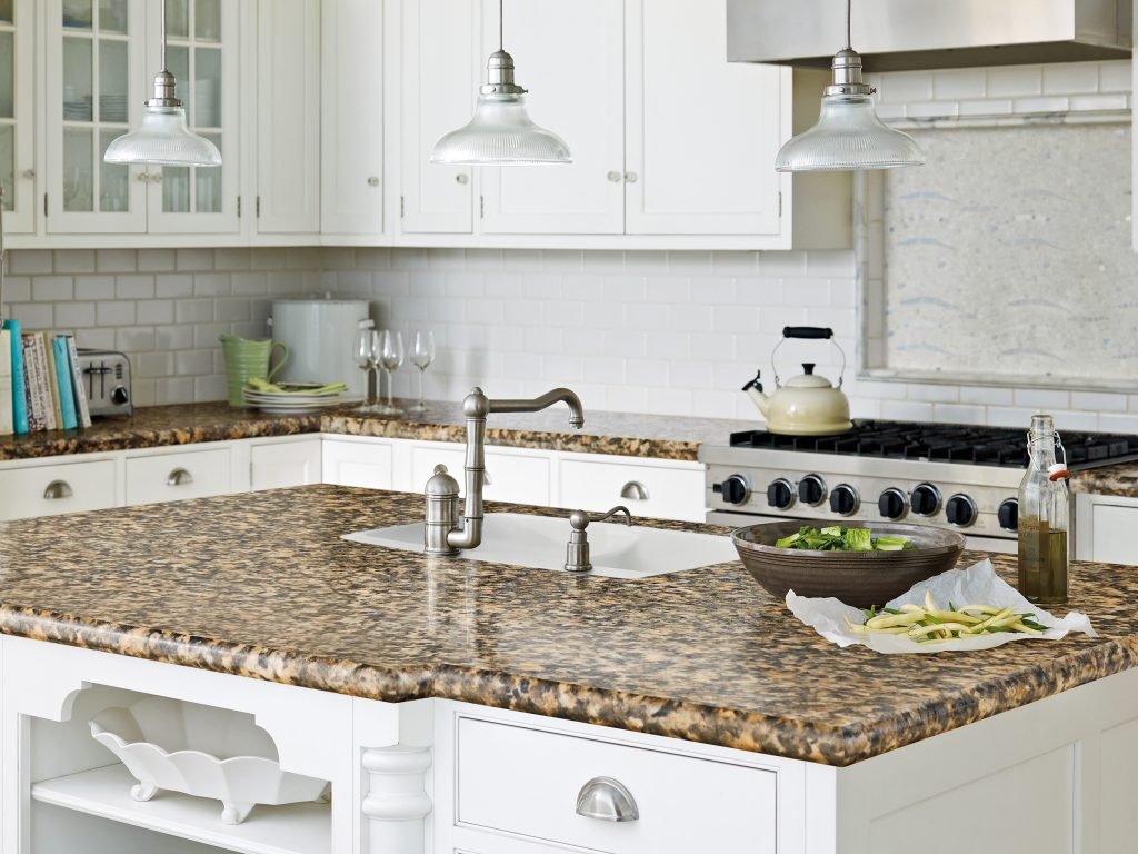 Granite, marble, quartz, slate and glass counter top installations in Melbourne FL by Hammond Kitchens & Bath
