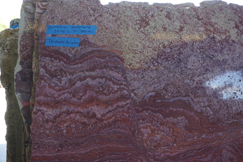 Countertop stone slab selection in Melbourne FL Hammond Kitchens & Bath