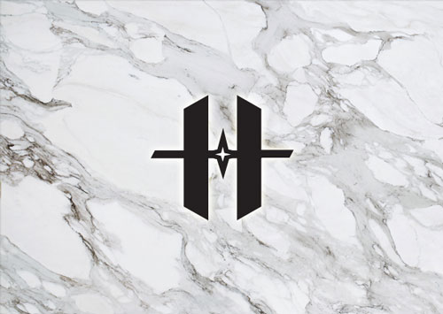 Marble real stone counter tops available at Hammond Kitchens & Bath in Melbourne FL