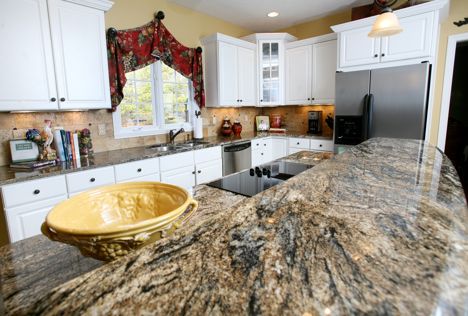 Granite countertop installation in Melbourne FL Hammond Kitchens & Bath