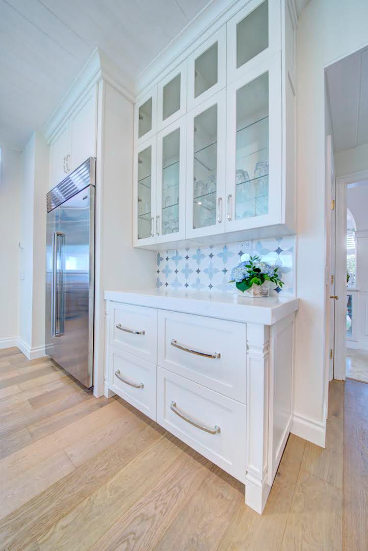 Beautiful ocean inspired kitchen and bathroom design and installation in Melbourne by Hammond Kitchens and Bath